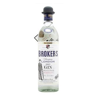 Brokers London Dry Gin 47% vol 70cl thumbnail