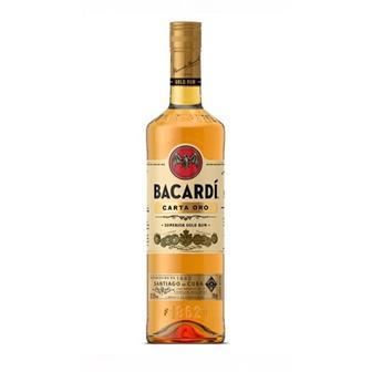 Bacardi Carta Oro 37.5% 70cl thumbnail