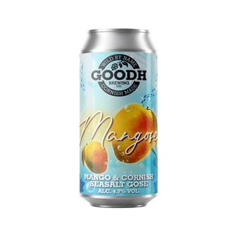 Goodh Brewing Co. Mangose Mango & Cornish Seasalt Gose 4.7% 440ml thumbnail