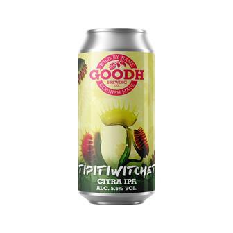 Goodh Brewing Co. Tipitiwitchet Citra IPA 5.6% 440ml thumbnail