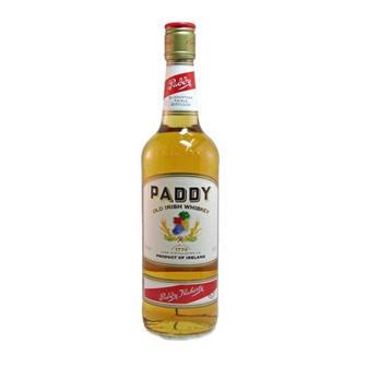 Paddy Irish Whiskey 40% 70cl thumbnail