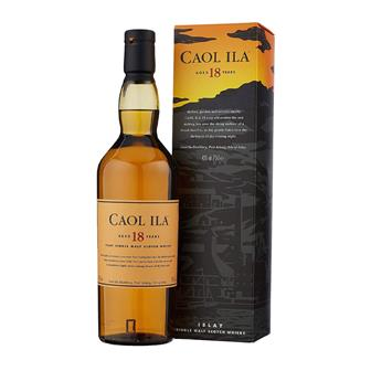 Caol Ila 18 Year Old Islay Single Malt Whisky 70cl thumbnail