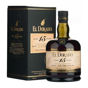 El Dorado 15 Year Old Rum 43% 70cl thumbnail