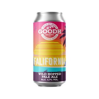 Goodh Brewing Co. Falifornia Wild Hopped Pale Ale 4.7% 440ml thumbnail