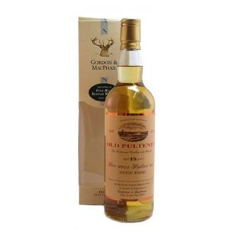 Old pulteney 15 years old Gordon & Macpail 40% 70cl thumbnail