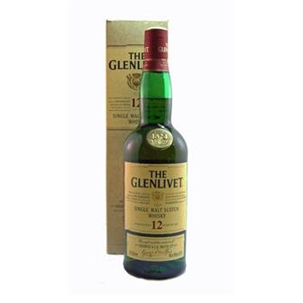 The Glenlivet 12 years old 40% 70cl thumbnail