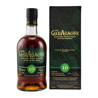 GlenAllachie Cask Strength 10 Year Old Batch 4 56.1% 70cl thumbnail