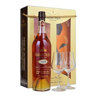 Maxime Trijol VSOP Grande Champagne Cognac Glass Pack 70 cl thumbnail