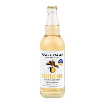 Fowey Valley Castledore Medium Dry Cornish Cider 6.5% 500ml thumbnail