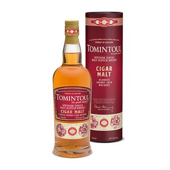 Tomintoul Cigar Malt Single Malt 70cl thumbnail