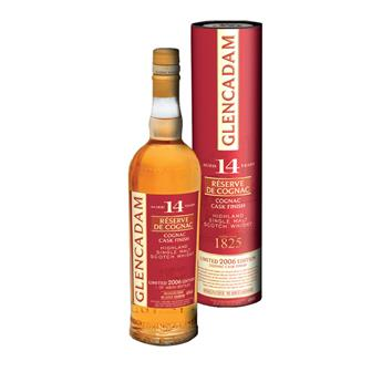 Glencadam 14 Year Old Reserve De Cognac Single Malt Whisky 70cl thumbnail