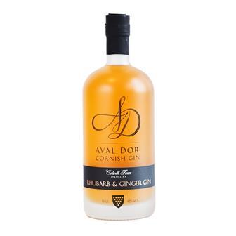 Aval Dor Cornish Rhubarb & Ginger Gin 70cl thumbnail