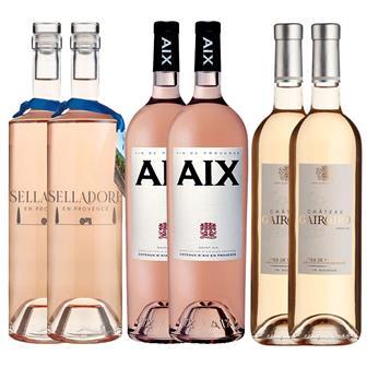 Provence Rose Wine Case 6x75cl thumbnail
