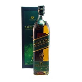 Johnnie Walker 15 years old Green Label 43% 70cl thumbnail