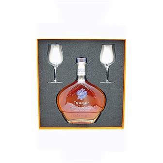 Delamain Extra Cognac With Glasses 40% 70cl thumbnail