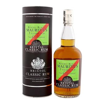 Bristol Classic Mauritius 5 Year Old Sherry Finish Rum 70cl thumbnail