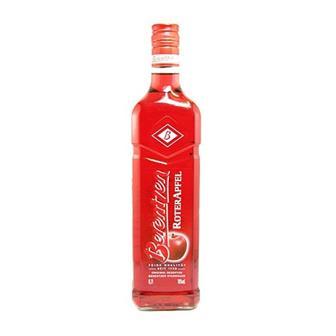 Berentzen Roter Apfel Schnapps 18% 70cl thumbnail