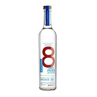 Ocho 8 Blanco Tequila 40% 50cl thumbnail