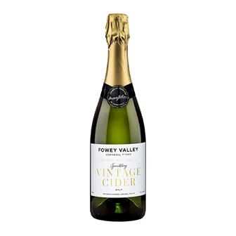 Fowey Valley Sparkling Vintage Cornish Cider 7.5% 750ml thumbnail
