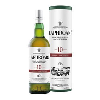 Laphroaig 10 Year Old Sherry Oak Finish 70cl thumbnail