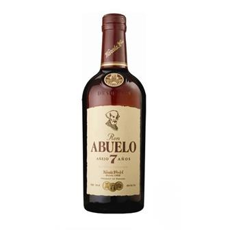 Ron Abuelo 7 years old Rum 40% 70cl thumbnail