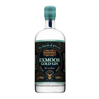 Exmoor Gold Gin Wicked Wolf 42% 70cl thumbnail