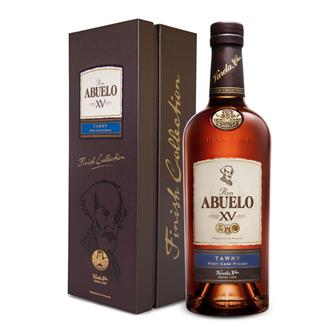 Ron Abuelo Anejo XV Rum Tawny Port Cask Finish 70cl thumbnail