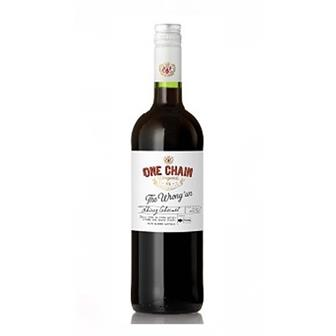 One Chain Shiraz Cabernet The Wrong Un 2019 75cl thumbnail