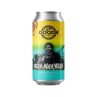 Goodh Brewing Co. Yeah Nah Yeah 4.7% 440ml thumbnail