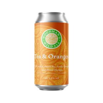 Woodman's Wild Ale Tea & Oranges 5.5% 440ml thumbnail