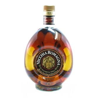 Vecchia Romagna Black Label Brandy 38% 70cl thumbnail