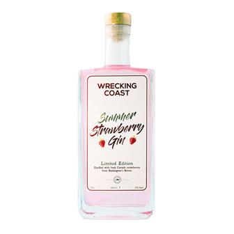 The Wrecking Coast Summer Strawberry Gin 70cl thumbnail