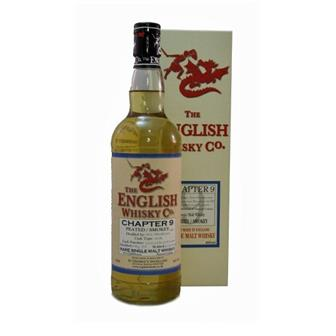 The English Whisky Co Chapter 9 Peated Whisky 46% 70cl thumbnail