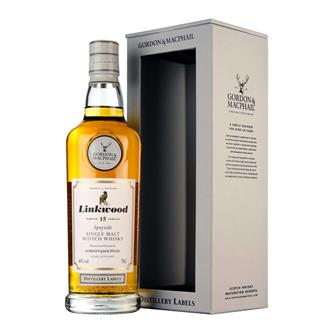 Linkwood 15 Year Old Distillery Labels G&M 46% 70cl thumbnail
