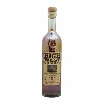 High West 16 years old Whiskey Rocky Mountain Rye 46% 75cl thumbnail