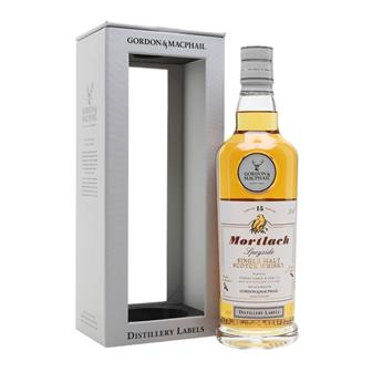 Mortlach 15 Year Old Distillery Labels G&M 46% 70cl thumbnail