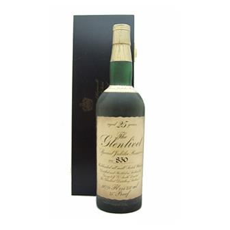 Glenlivet 25 years old Silver Jubilee 26/1/3 fl ozs 75cl thumbnail