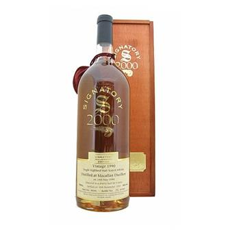 Macallan 1990 9 years old Millennium Edition 43% 150cl thumbnail