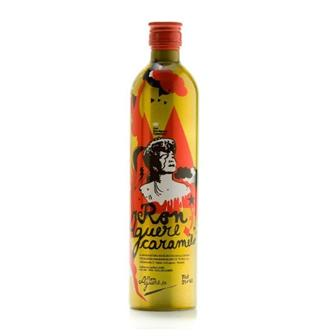 Ron Aguere Caramelo Rum (Tin bottle) 70cl thumbnail