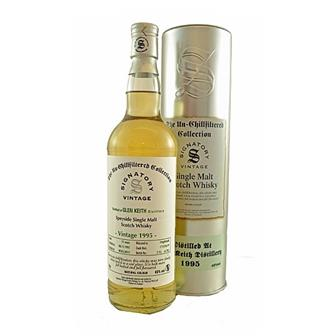 Glen Keith 1995 15 years old Signatory 46% 70cl thumbnail