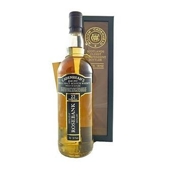 Rosebank 22 years old 1989 Cadenheads 50.1% 70cl thumbnail