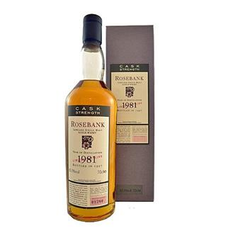 Rosebank 1981 Limited Bottling 63.9% 70cl thumbnail