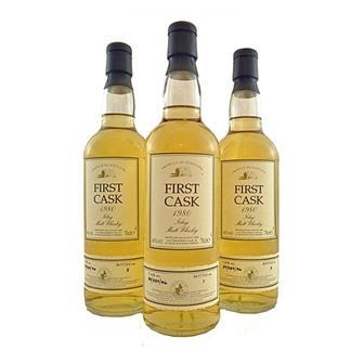 Port Ellen First Cask 1980 Bottles No.1No.2 & No.3 46% 70cl thumbnail