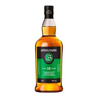 Springbank 15 Year Old Single Malt Whisky 70cl thumbnail