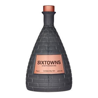 Sixtowns Dry Gin 70cl thumbnail