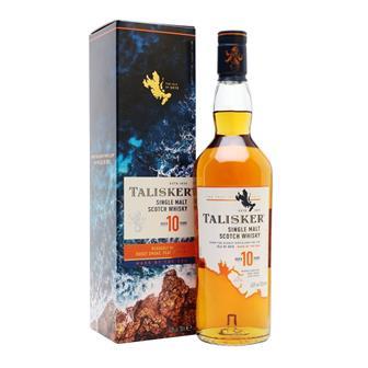 Talisker 10 Year Old Single Malt 70cl thumbnail