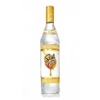 Stolichnaya Sticki (honey) Vodka 37.5% 70cl thumbnail