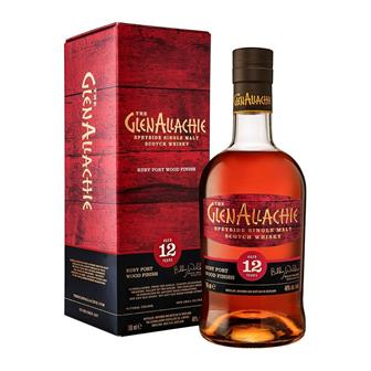 GlenAllachie 12 Year Old Ruby Port Wood Finish 70cl thumbnail