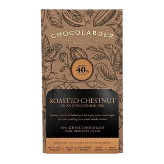 Chocolarder Roasted Chestnut 40% Milk Chocolate 70g thumbnail