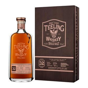 Teeling 32 Year Old Irish Single Malt Whiskey Limited Edition 70cl thumbnail